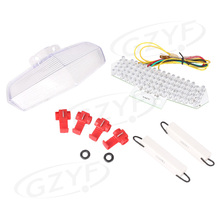 Integrated LED Motorcycle Clear Taillight Turn Signals For Ducati 749 999 2002 2007 Parts and Accessories