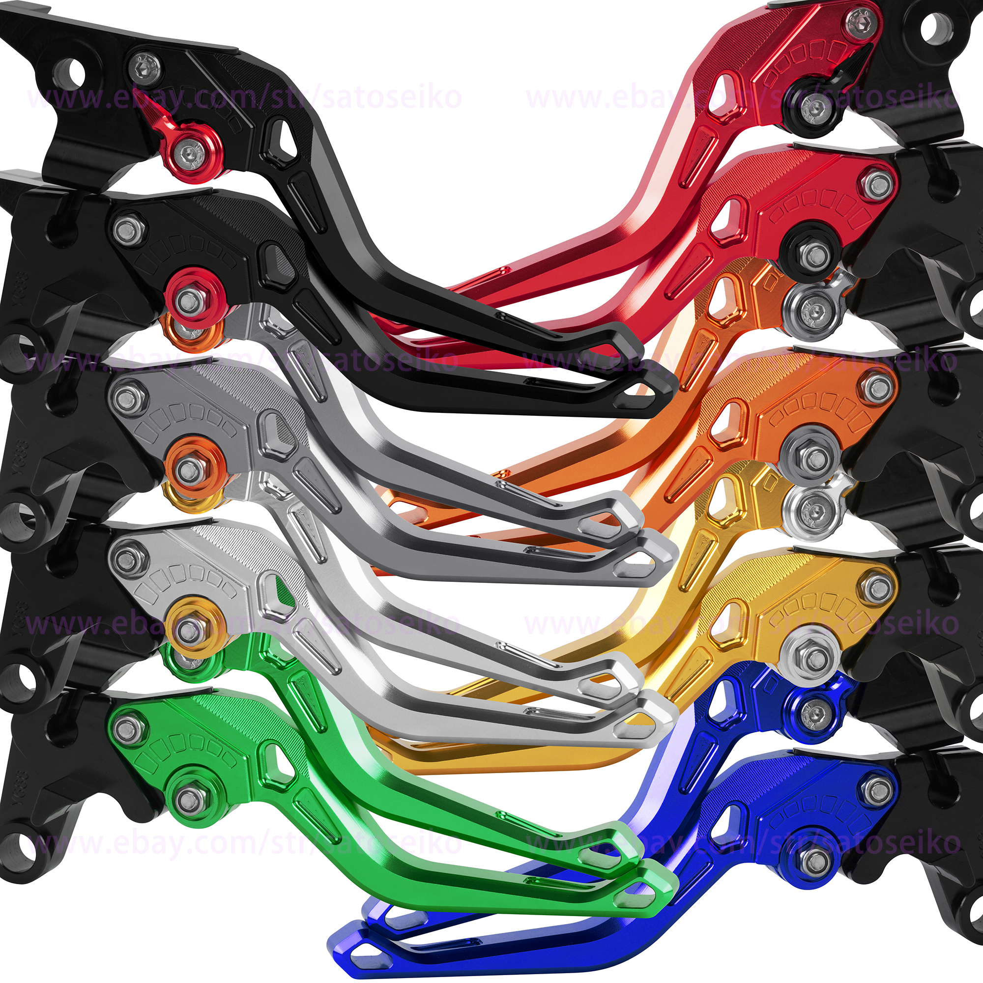 Motorcycle CNC Drum Disc Fit For Hydraulic Line GY6 Brake Clutch Lever Grip Trim