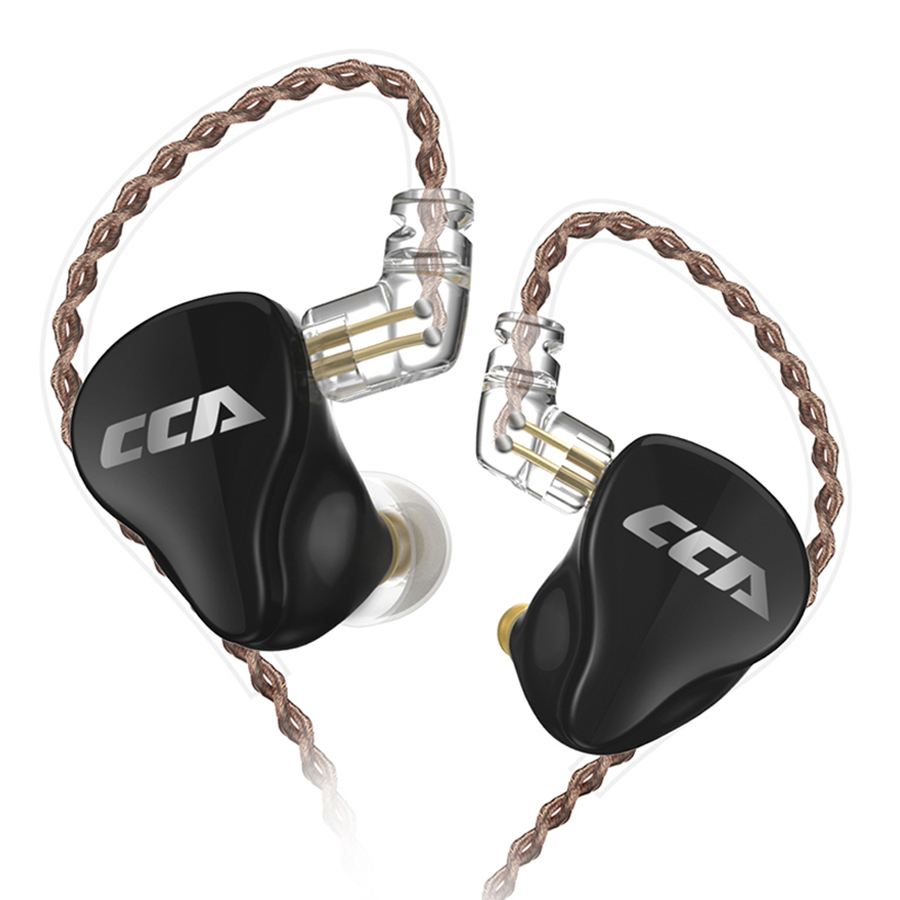 CCA CA16 7BA 1DD Hybrid 8 Drive Units Earphone HIFI In Ear Monitor Headset Detach 2PIN Cable Earbud C16 C12 ZSX CA4 C10 TRNV90