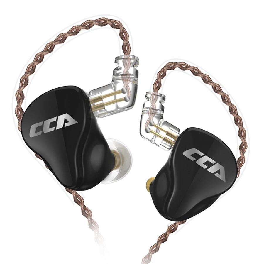 CCA CA16 7BA 1DD Hybrid 8 Drive Units Earphone HIFI In Ear Monitor Headset Detach 2PIN Cable Earbud C16 C12 ZSX CA4 C10 TRNV90