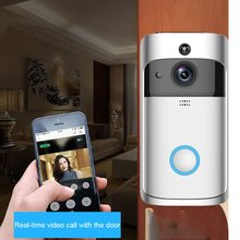 M3 Portable Wireless Indoor Doorbell Receiver Adjustable Volume 52 Rings Smart Wifi Remote Control Home Accessory