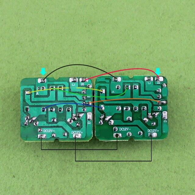 40W DC-AC onduleur alimentation 12V à 220V transformateur dentraînement convertisseur de Module dalimentation constante de haute qualité