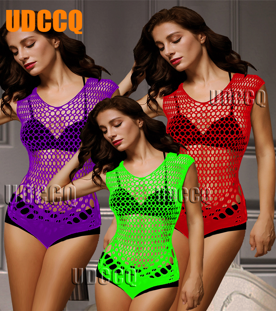 Sexy Underwear Sleepwear Porn Babydoll/Baby Sexy Hot Erotic Teddy Mesh Lingerie Teddy Catsuit Nightwear Costumes Corsets 8628