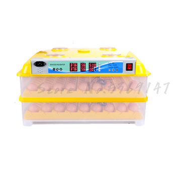 Mini Egg Incubator 36 Eggs Circulating Duct High Hatching Rate Incubadora Chicken Duck Goose Thermostat for