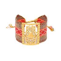 Go2boho MIYUKI Evil Eye Bracelet Jewelry Women Pulseras Mujer 2019 Bohemian Summer Hamsa Hand Cuff Bracelets Handmade Loom Woven