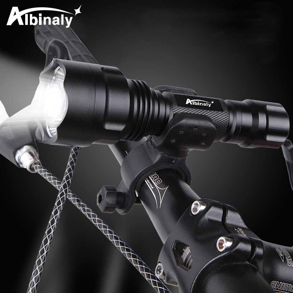 Super Bright Bicycle Light LED Bike Light Night Riding Lights 5 Lighting Modes Waterproof By 18650 Battery Suitable For Cycling