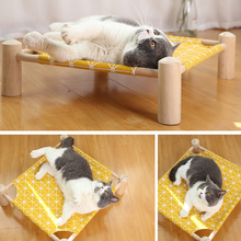 Durable Detachable Dog Cat Hammock Bed Pet House For Dog Puppy Lazy Mat Cushion Lounger For Cats Kitten Cottages Pet Accessories cat hammock bed detachable breathable cats products for pets top quality pet bed for cats cama para gato