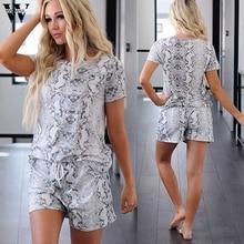 Womail pijamas mujer loose sleepwear women summer lounge wear nightgown female p