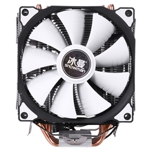 SNOWMAN M T6 4PIN CPU Cooler Master 6 Heatpipe Double Fans 12cm Cooling Fan LGA775 1151 115X 1366 Support Intel AMD