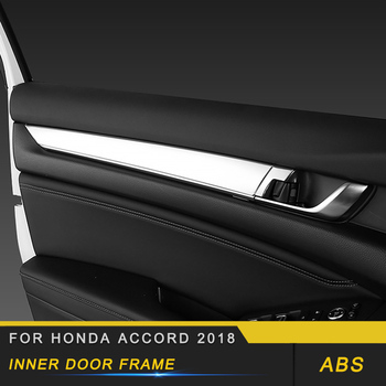 Auto Car-styling Inner Door Frame Trim Covers Interior Accessories for Honda Accord 2018