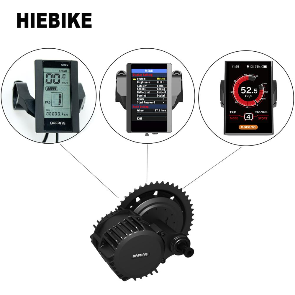 Bafang C965 LCD Display For BBS01//02//HD Mid Drive Motor Electric Bike Component
