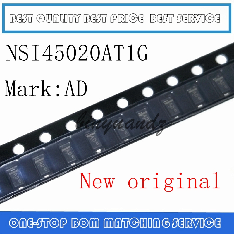 50PCS-500PCS NSI45020AT1G SOD-123 NSI45020 AD SOD123 SMD