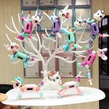 Детская игрушка с бусинами для девочек волшебник времени творческие