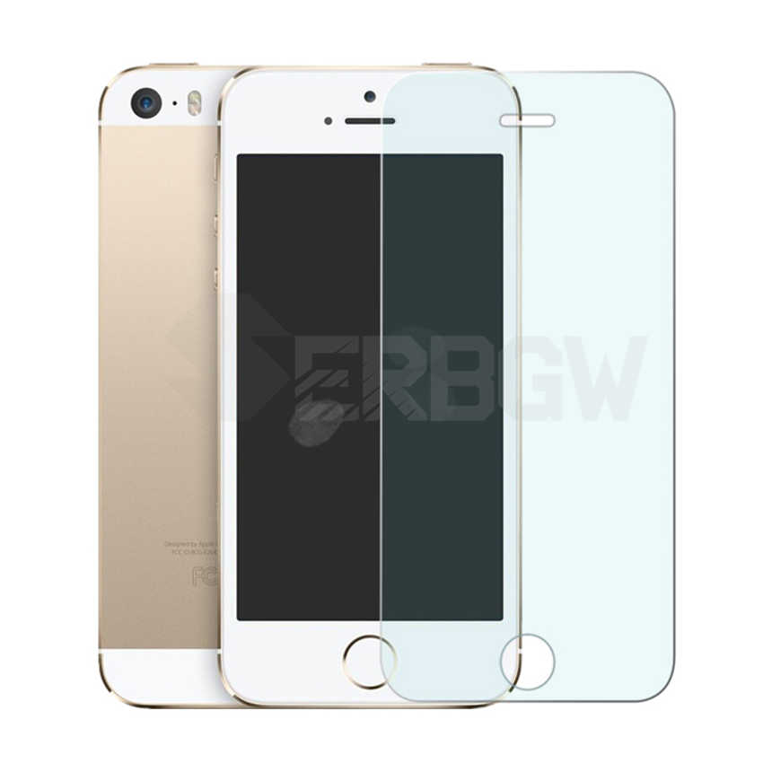 9H مكافحة الانفجار الزجاج المقسى ل فون 4 4S 5 5S 5C SE جميع شاشة الغراء حامي ل فون 5S SE التغطية الكاملة طبقة رقيقة واقية