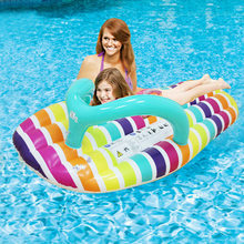 Inflatable Water Hammock Floating Bed Slippers Lounge Chair for Swimming Pool Beach P7Ding(China)