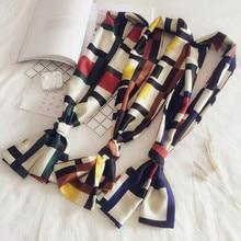hair scarf winter women shawls and wraps silk hijab for ladies accesorios mujer foulard femme autumn luxury brand scarfs/scarves