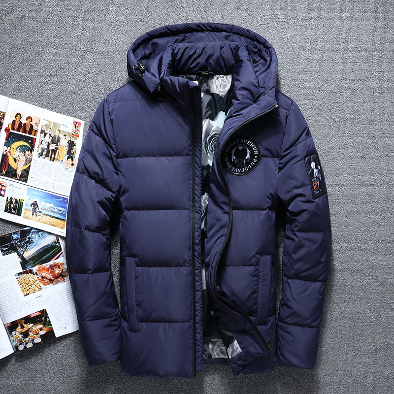 Hot Sale Winter Big Hooded Duck Down Jackets Men Warm High Quality Down Coats Male Casual Winter Outerwer Down Parkas