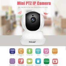 Sricam SP020 720P HD PTZ IP Security Indoor Camera IR-CUT Wedcam WiFi Wireless Camera Home Surveillance Baby Monitor