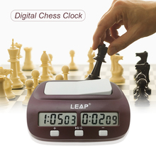 Professional Digital Chess Clock Count Up Down Chess Timer with Alarm Electronic Board Game Bonus Competition Master Tournament