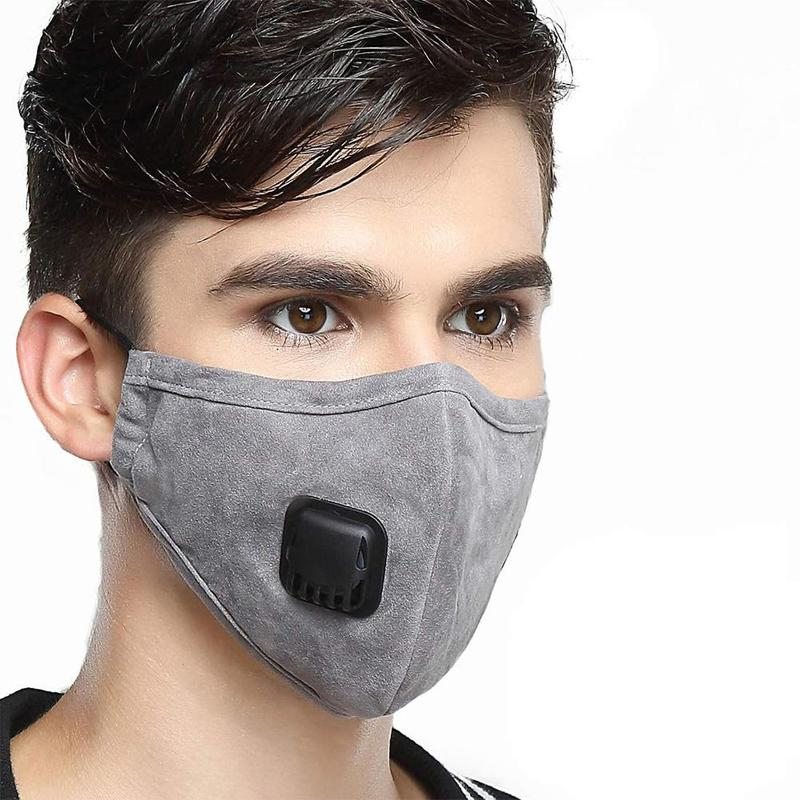 1 Pcs New Winter Riding Cold Masks Cotton Filter Breathing Valves Anti-fog Masks Men And Women Warm Dust-proof Masks