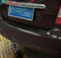 Kofferbak Cover Trim Voor Ford Focus MK2 Sedan 2005-2010 Chrome Decoratie Achterklep Frame Garneer Strip Auto Styling accessoires