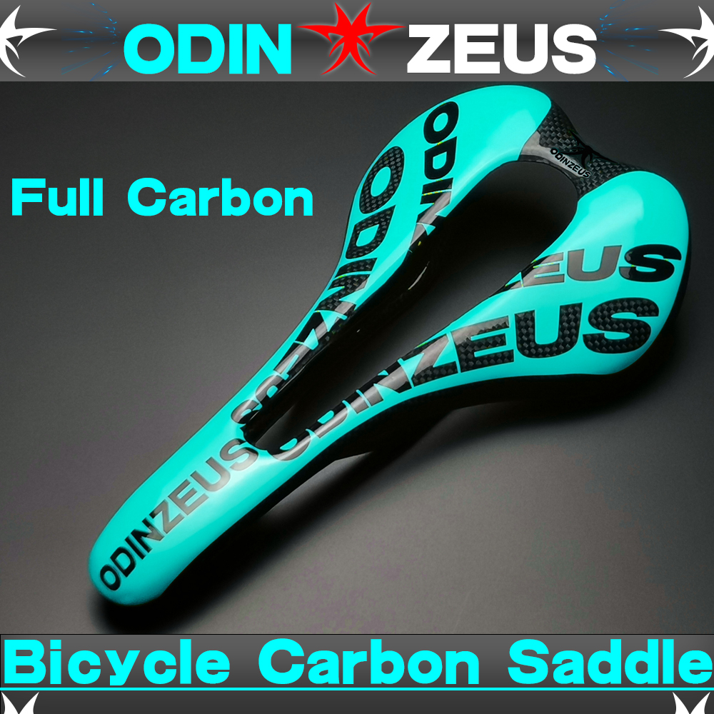 Newest mountain bike 3K full carbon fibre bicycle saddle road MTB front seat mat