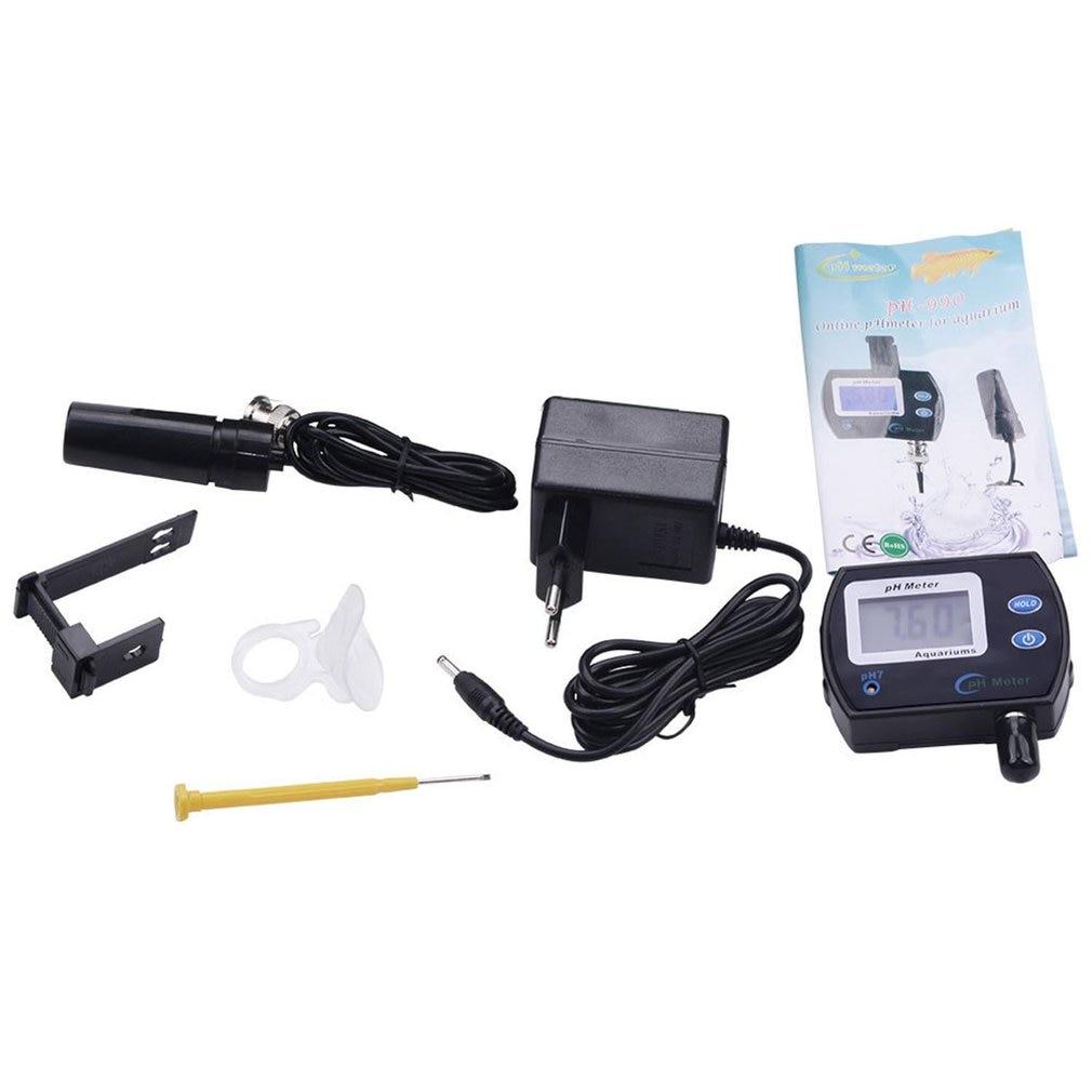 Portable PH Meter Tester Accurate Digital Pen Pocket Aquarium LCD PH Tester With Backlight For Aquarium Swimming Pool