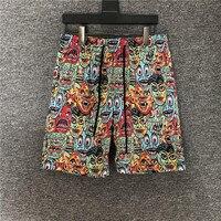 2020 Summer Men's runways brand new high quality casual shorts Hot Fashion print Men Beach Shorts B948