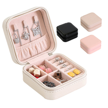 New Fashion Jewelry Box Portable Storage Organizer Zipper Women Display Travel Case Gift Boxes