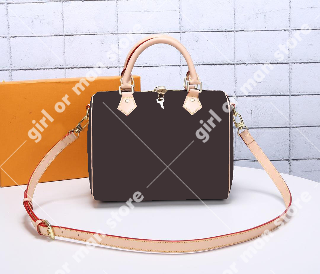 Classic women's bags hangbag Inclined shoulder bag Top quality Real lady pillow pack Luxury N40390 25cm