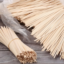 30 Pcs Natural Premium Rattan Reed Sticks Replacement Refill Rattan Stick Aromatic Stick For Fragrance For Home Wedding Decor