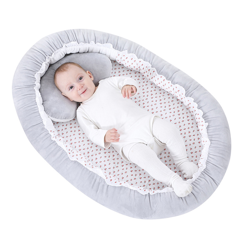 Portable Anti-Reflux Cushion Baby Bed Multi-function Infant Crib Nursery Travel Anti-vomiting Pillow Sleep Positioning Wedge