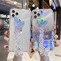 Лазерный Бабочка Браслеты», мягкий прозрачный чехол для мобильного телефона для Samsung Galaxy A50 A70 A30S A20 A51 A71 A21S S20 FE Примечание 20 чехол