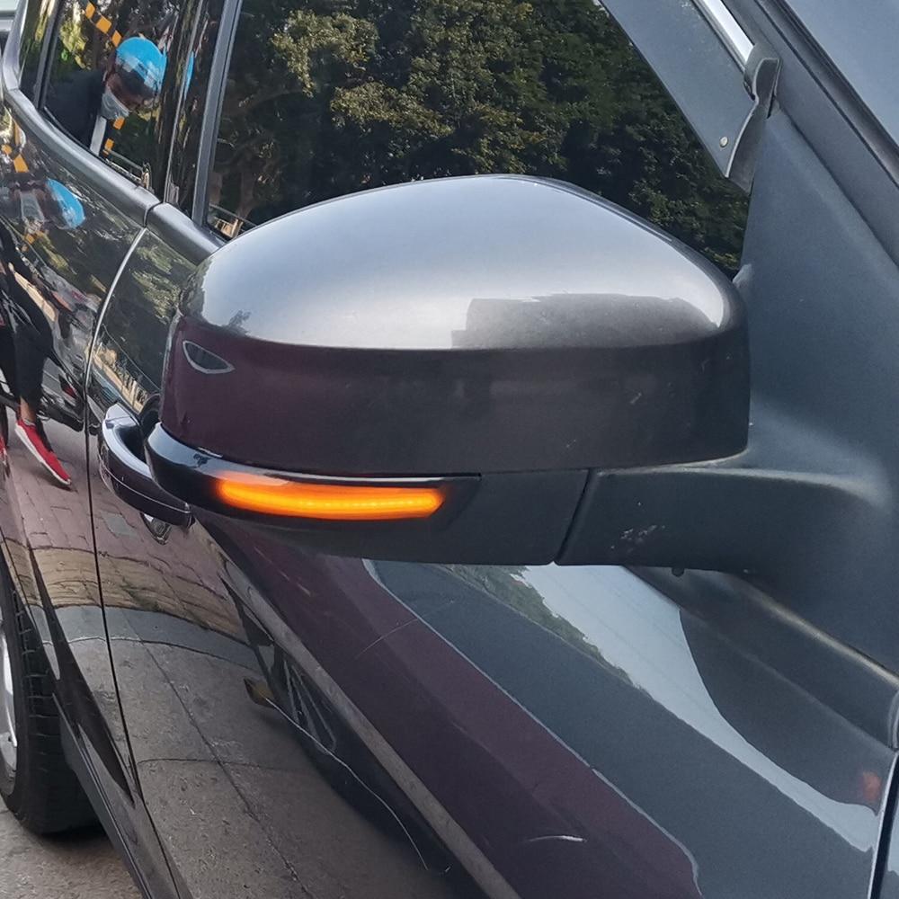 Image 4 - 2pcs Dynamic Turn Signal Light LED Side Wing Rearview Mirror Indicator Blinker Light For Ford Focus 2 3 Mk2 Mk3 Mondeo Mk4Signal Lamp   -