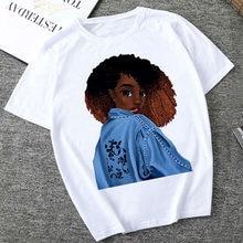 América África menina impressão feminino verão camiseta streetwear da forma T das mulheres T-shirt de Harajuku Tops de manga curta casuais T-shirt