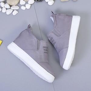 Image 3 - AARDIMI kadın mokasen Creepers Platform ayakkabılar kadın rahat ayakkabılar kadın takozlar Sneakers kadınlar üzerinde kayma düz ayakkabı sonbahar
