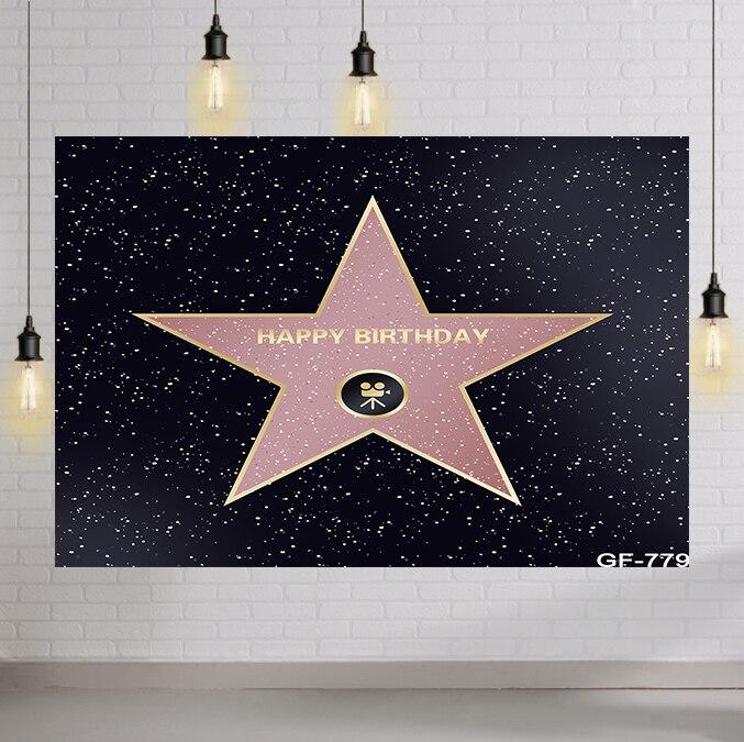 Мерцание Звезда Фотофон для фотосъемки на день рождения вечерние фон для фотосъемки с изображением для детей фотосессии фон для фотосъемки