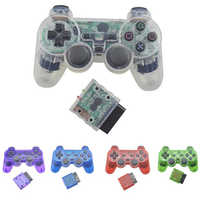 BEESCLOVER para Sony PS2 2,4G controlador analógico inalámbrico Bluetooth Gamepad para Play Station 2 Joystick para Dualshock 2 d30