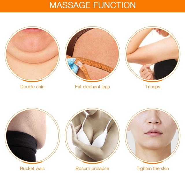 5 IN 1 EMS Ultrasonic Body Facial Slimming Anti Cellulite Burn Fat Cavitation Body Slimming Weight Loss Therapy Face Massager 4