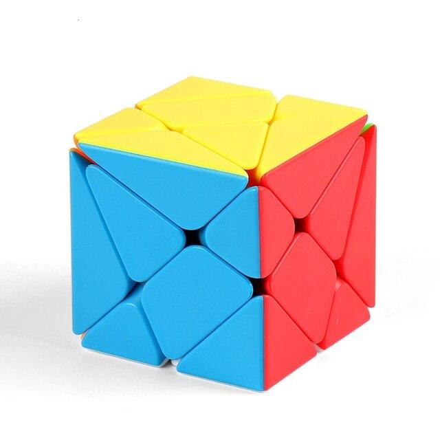 Moyu Meilong MoFangJiaoShi 3x3 Windmill Axis Fisher Magic Cube 3x3x3 Puzzle Twist Educational Kid Toys Games 1