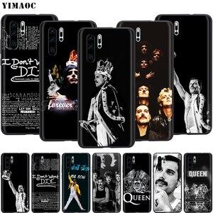 Чехол YIMAOC Queen Freddie Mercury для Huawei Mate 30 20 Honor Y7 7a 7c 8c 8x9 10 Nova 3i 3 Lite Pro Y6 2018 P30 P smart