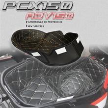 For Honda PCX125 PCX150 ADV150 pcx 125 150 adv 150 Rear Trunk Cargo Liner Protector Motorcycle Seat Bucket Pad Storage Box mat