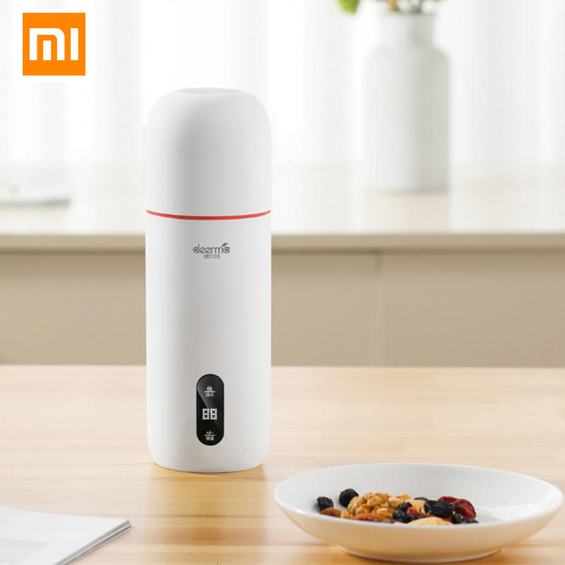 XIAOMI MIJIA Deerma Portable Electric Kettle Thermal Cup Coffee Travel Water Boiler Temperature Control Smart Water Kettle