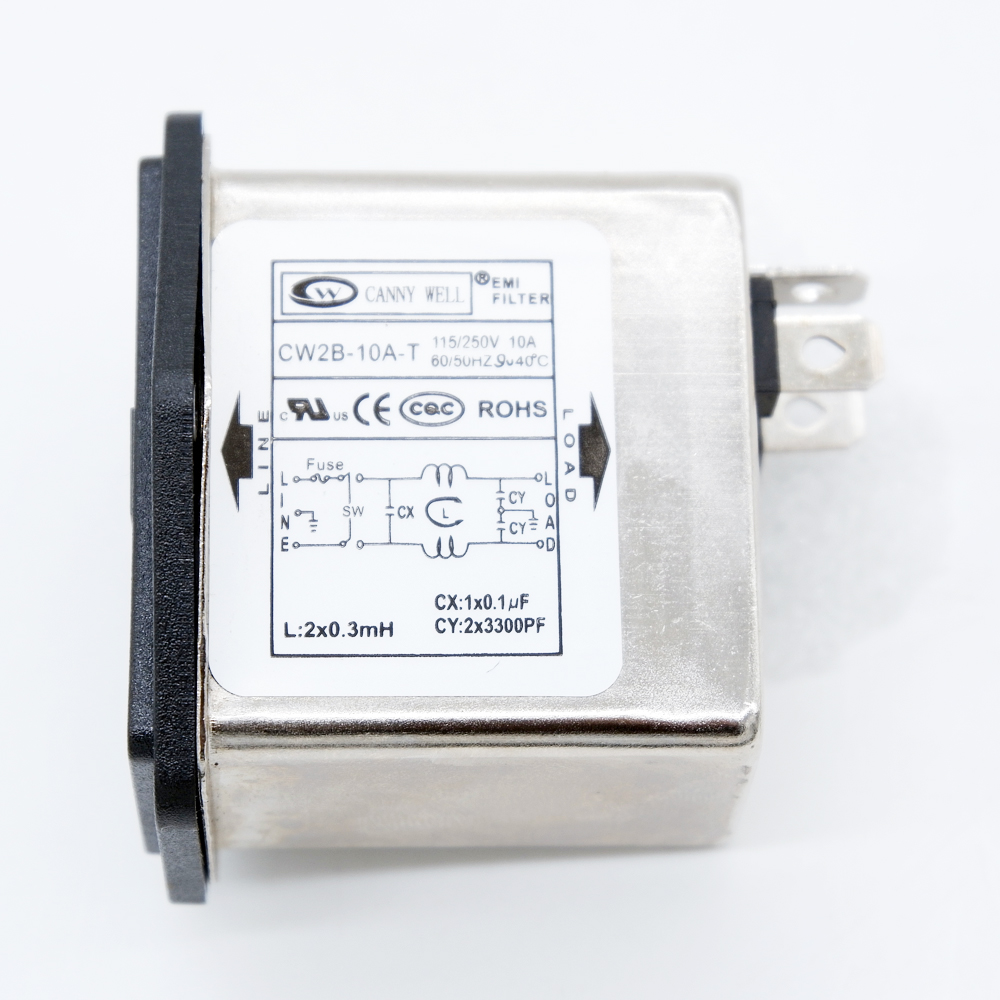 power emi filter emi power filter with Fuse Socket 2 in 1 Single Safety 125/250v 1 order ,anti interference Suppressor Power|Connectors|   - AliExpress
