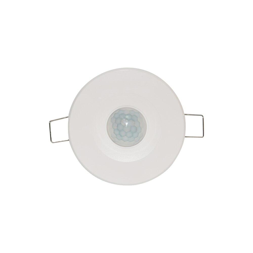 12VDC indoor infrarot detektor unten licht PIR motion sensor für sicherheit alarm system menschliches boday induktion schalter decke