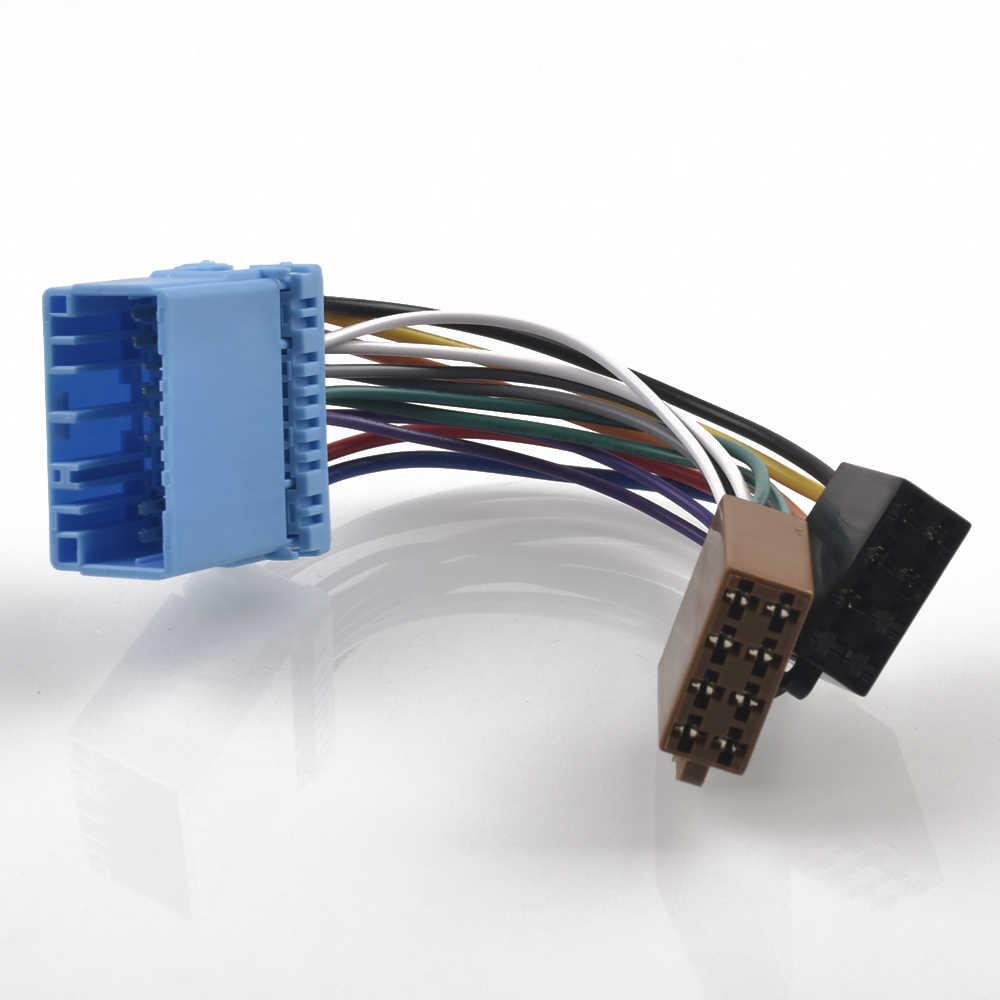 Adaptador ISO Rádio do carro Interruptor Cabo para Honda Accord Civic CRV Integra Integra Jazz Odyssey