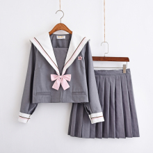 Japanese-made Korean JK uniform student uniforms class service sailor suit college wind suit school girl uniform