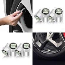 4 шт. автомобильный значок автомобильные клапаны для колесных шин шина воздуха колпачки аксессуары для Seat Leon Ibiza Альгамбра Niva Kalina Priora Granta Largus