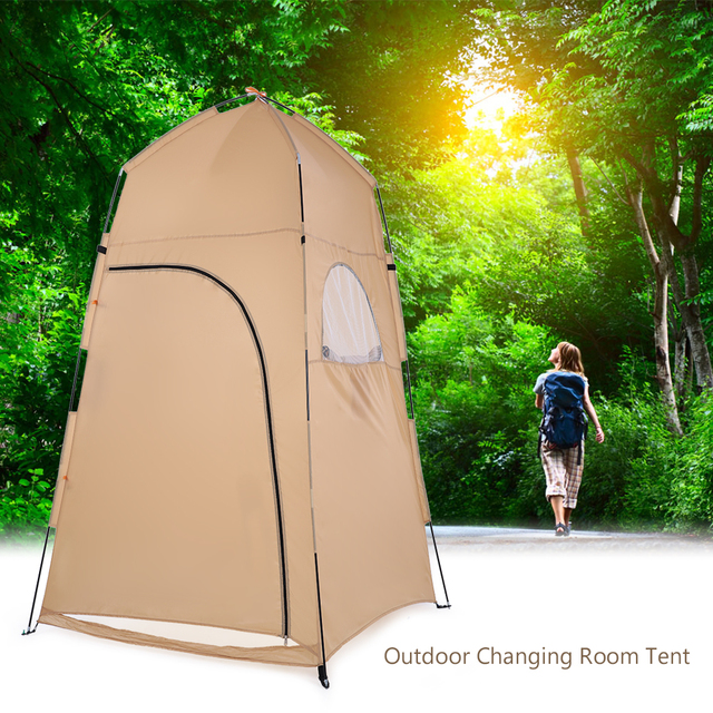 TOMSHOO Portable Outdoor Shower Bath Changing Fitting Room camping Tent Shelter Beach Privacy Toilet tent for outdoor 2019 1