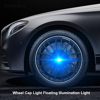 Piasta światła 4 sztuk samochodów pływające oświetlenie kołpaki światła LED pokrywa środka dla mercedes benz w204 w203 w205 w210 w211 w212 w213 tanie i dobre opinie bosclear NONE CN (pochodzenie) LAMPKA NA PIAŚCIE hublight 12 v 30cm waterproof